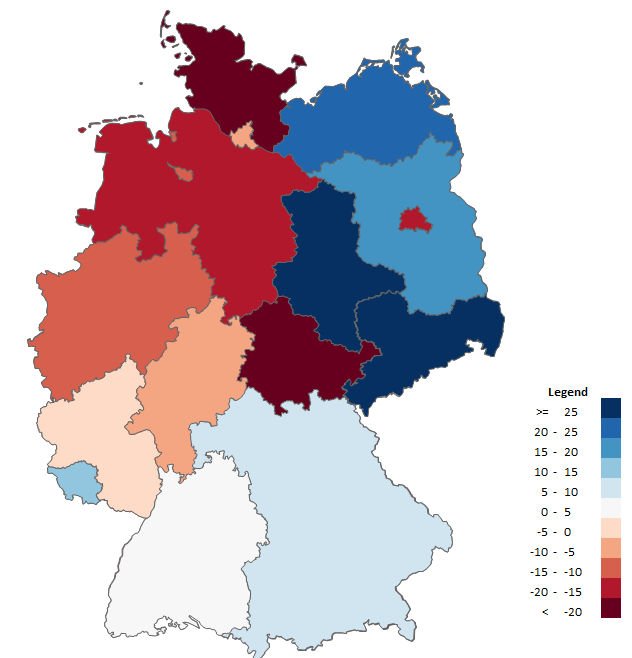 Excel Map Germany