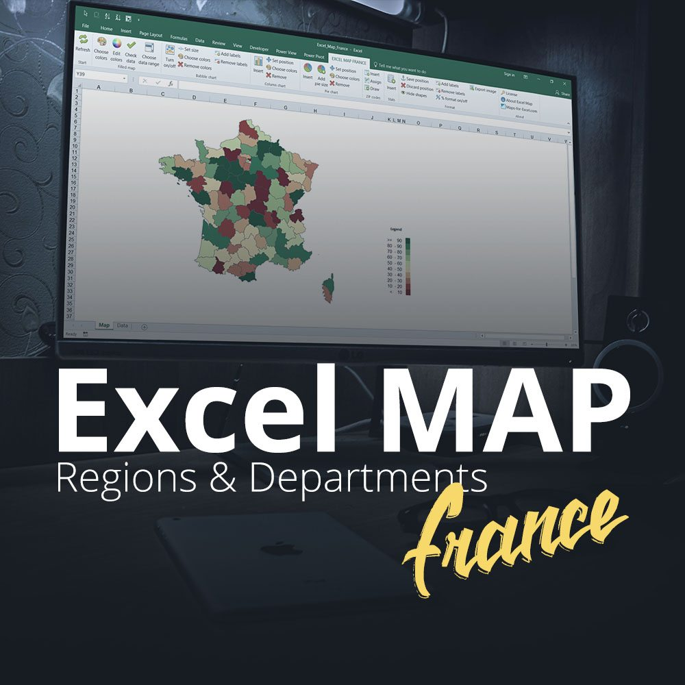 Excel Map France