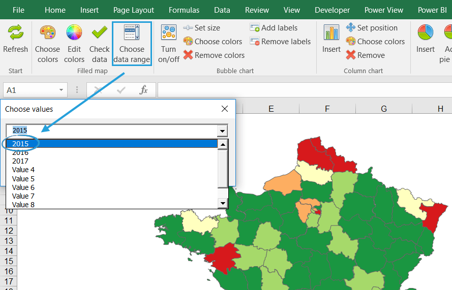 Filled Map Archives Maps For Excel Simple Excel AddIn To Create - Check off map
