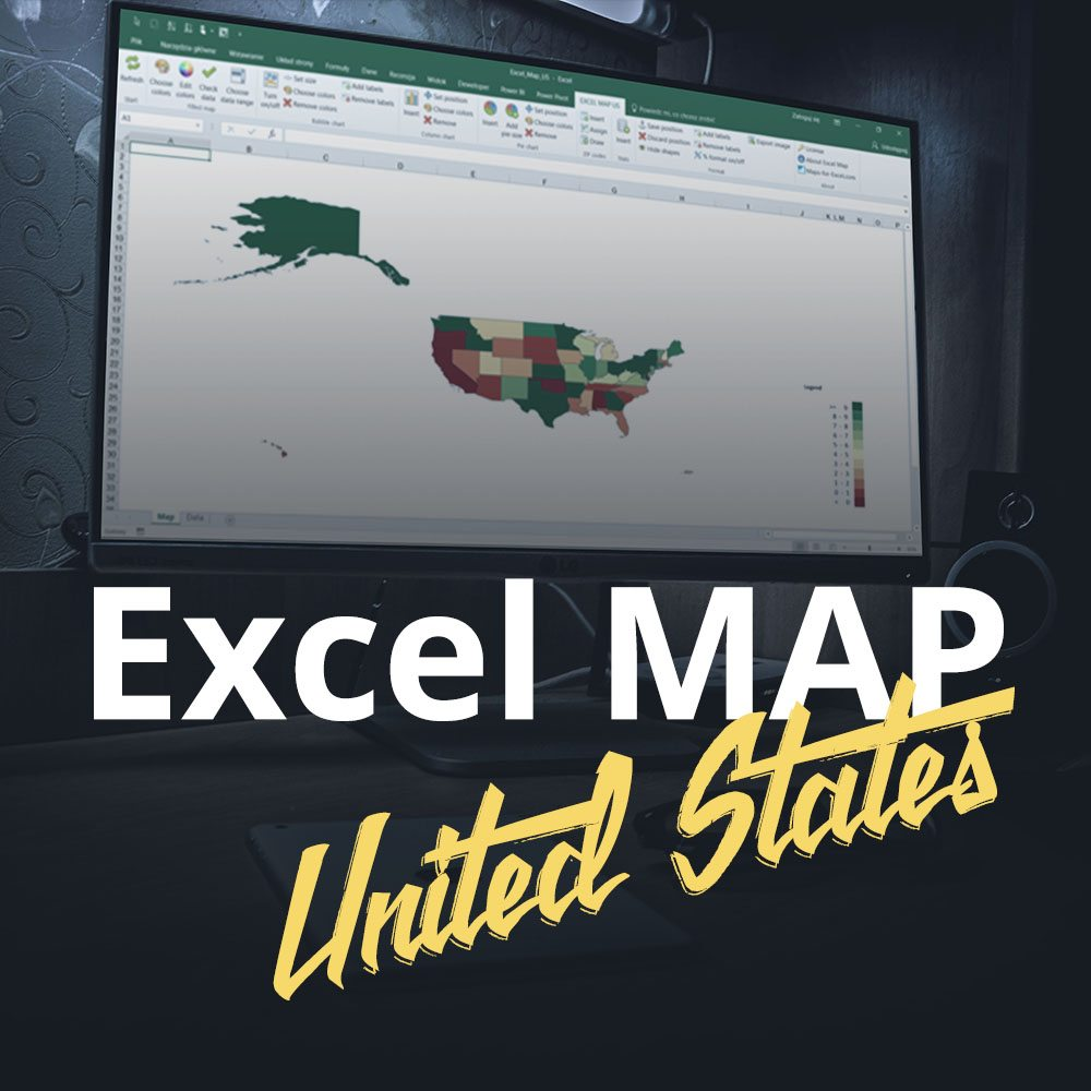 Excel Map United States