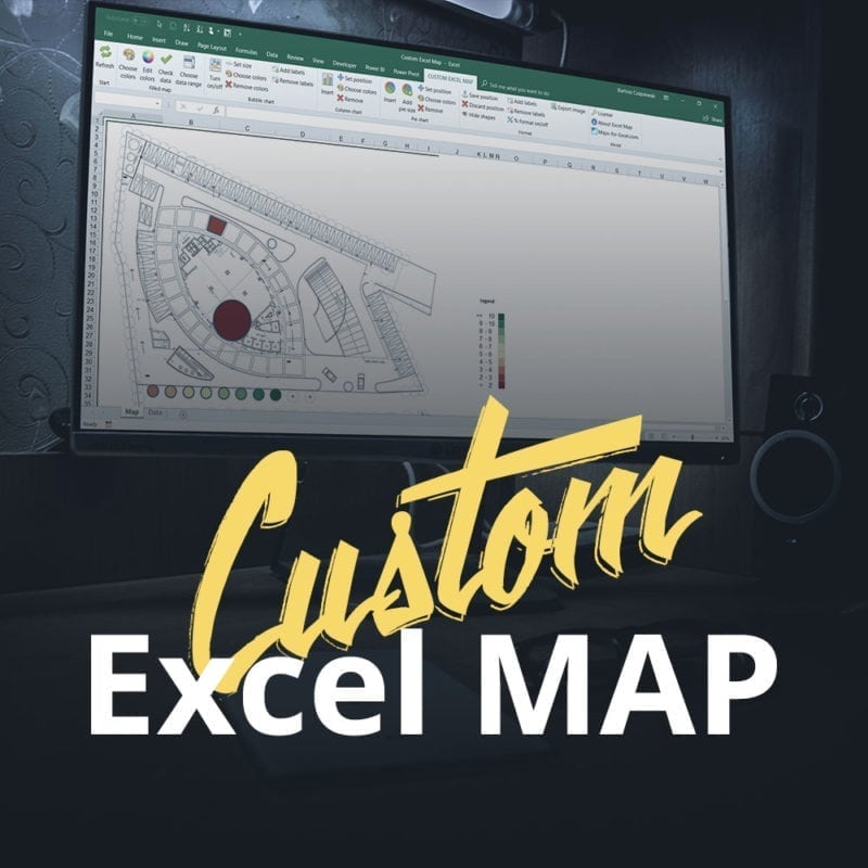 Custom Excel Map